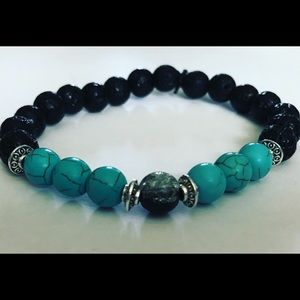 Lava bead diffuser bracelet